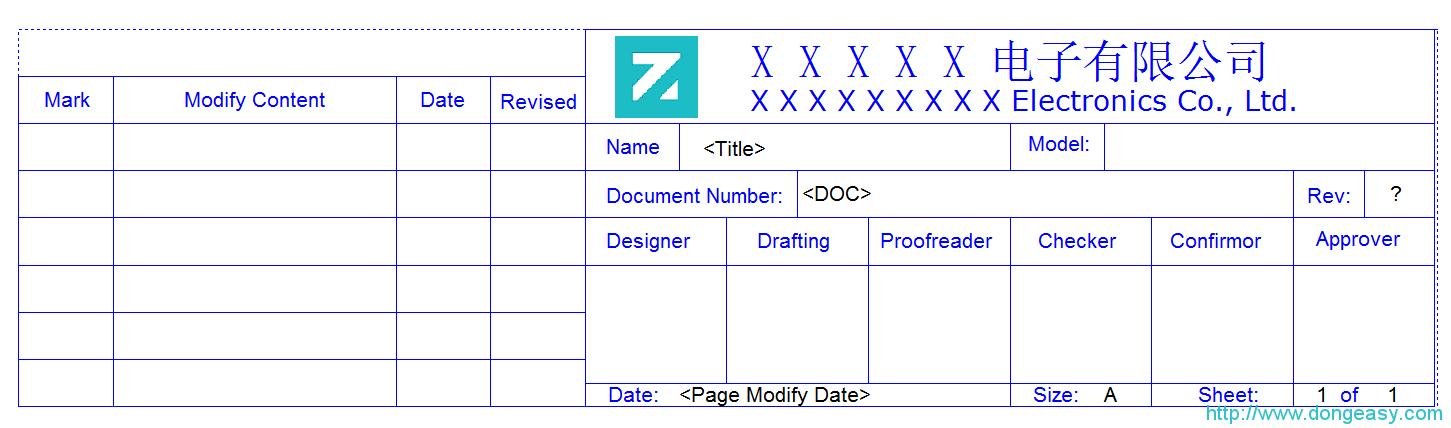 Cadence OrCAD 自定义标题栏(附库文件下载)
