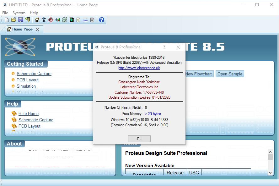 Proteus 8.5 SP0
