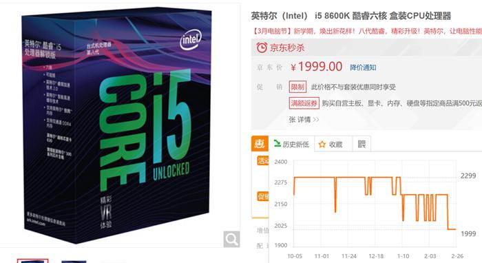 AMD、Intel CPU价格处于历史低位,正是入手好时机