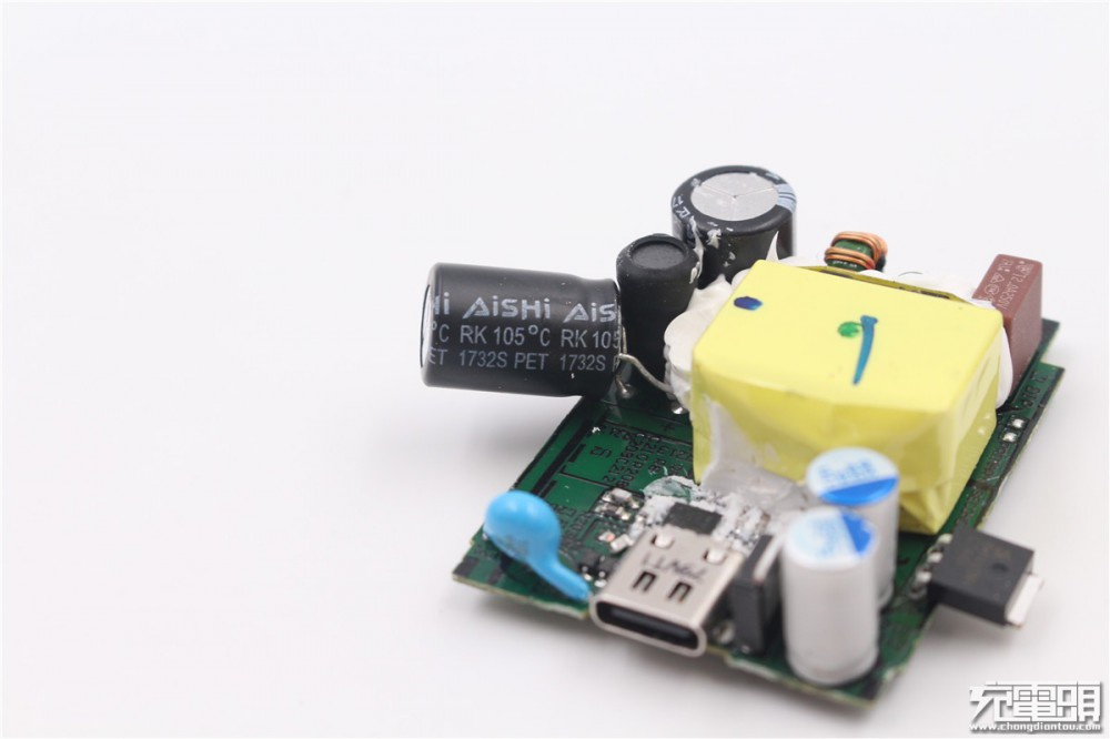 ASUS华硕18W USB PD3.0充电器拆解