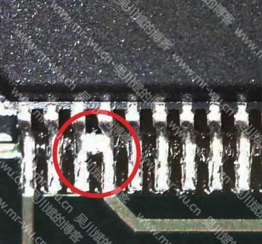 PCB之器件相邻的焊盘间走线